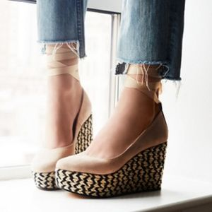 Free People Charade Espadrille Wedge
